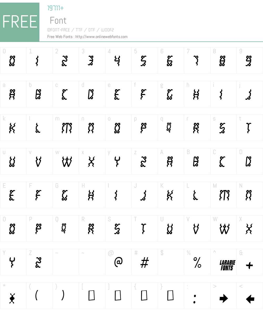 WhiteLake Font Screenshots