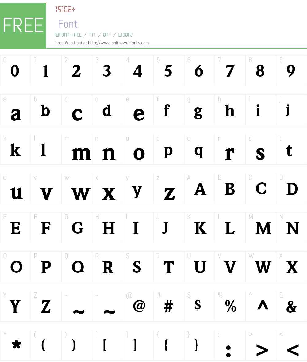 Weidemann Std Font Screenshots
