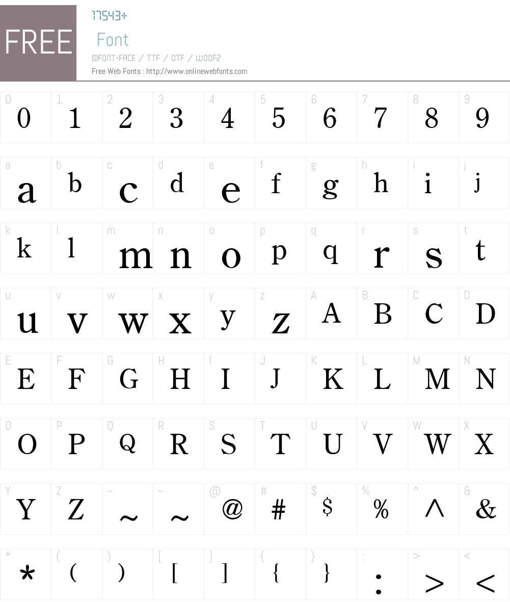 ToPhon Font Screenshots