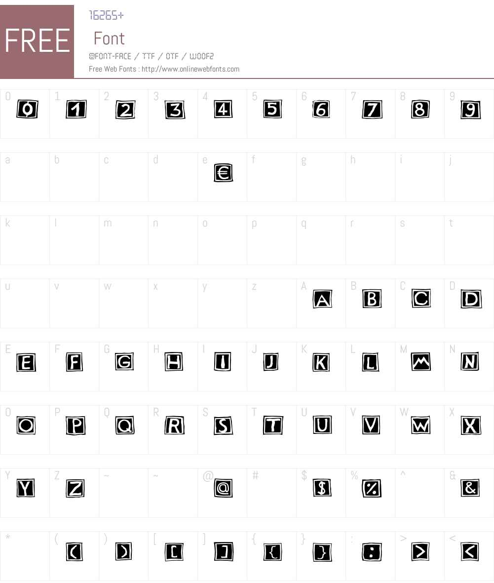 Stempel LT Std 2 Font Screenshots