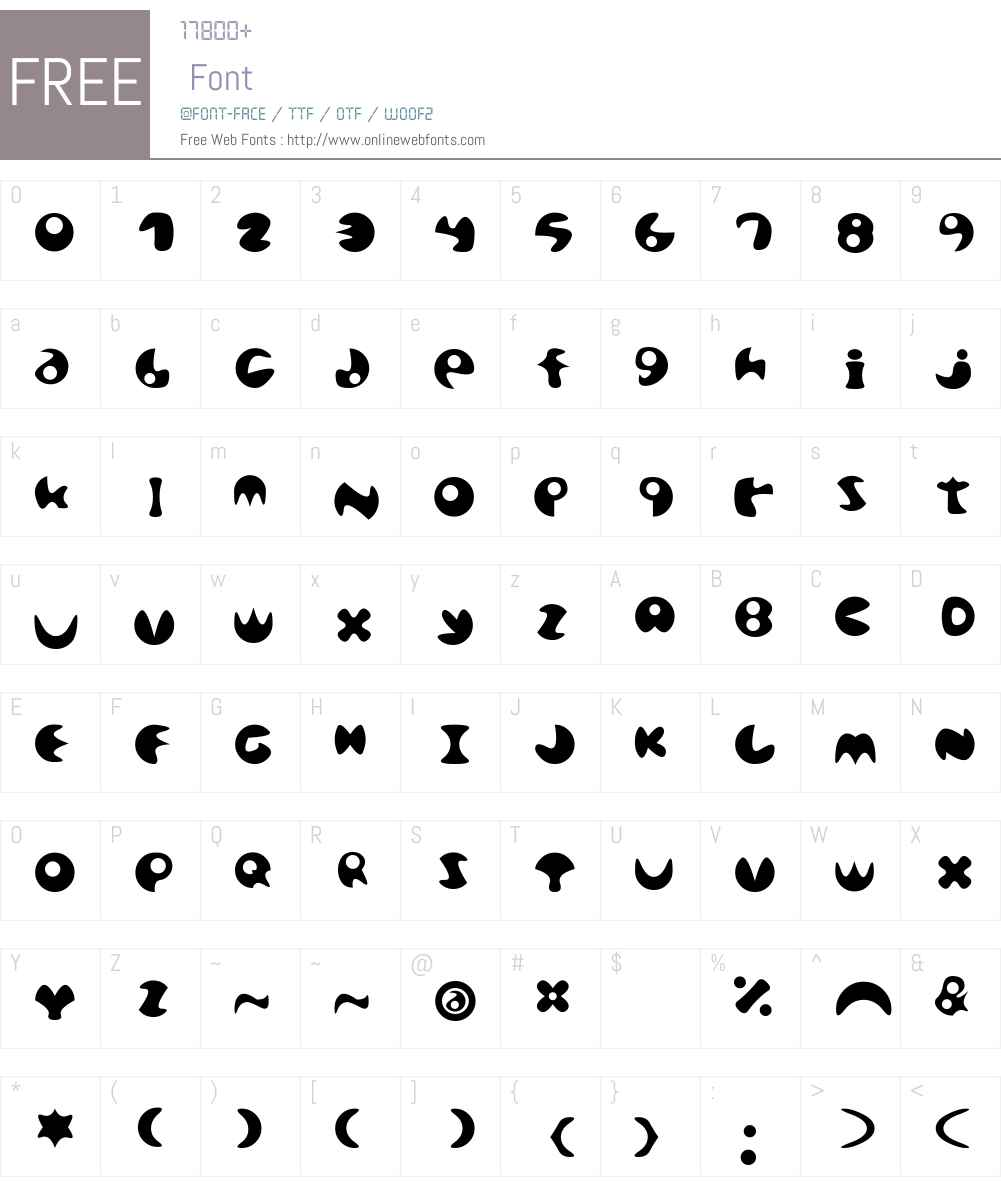 maru Font Screenshots