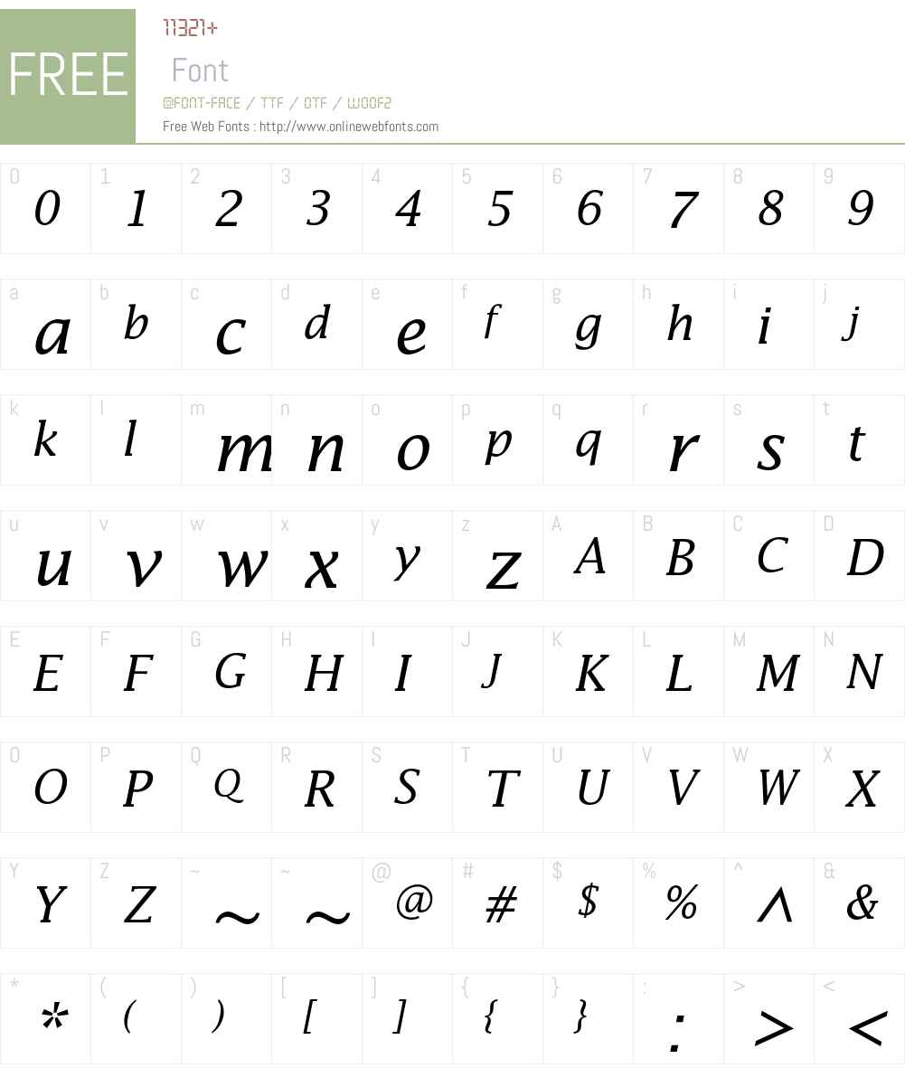 Lucida Std Font Screenshots