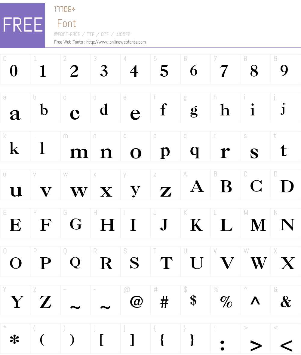 Nelsie-Bold Font Screenshots