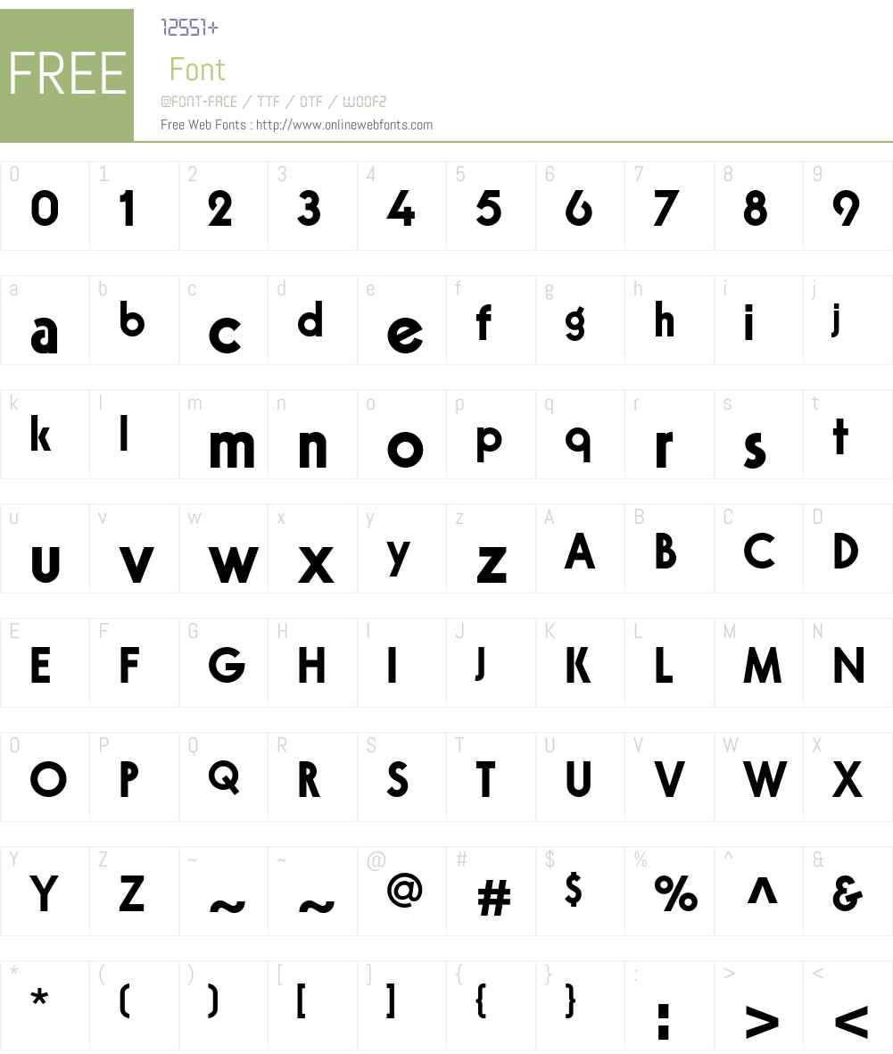 VirginiaBoldW00-Regular Font Screenshots