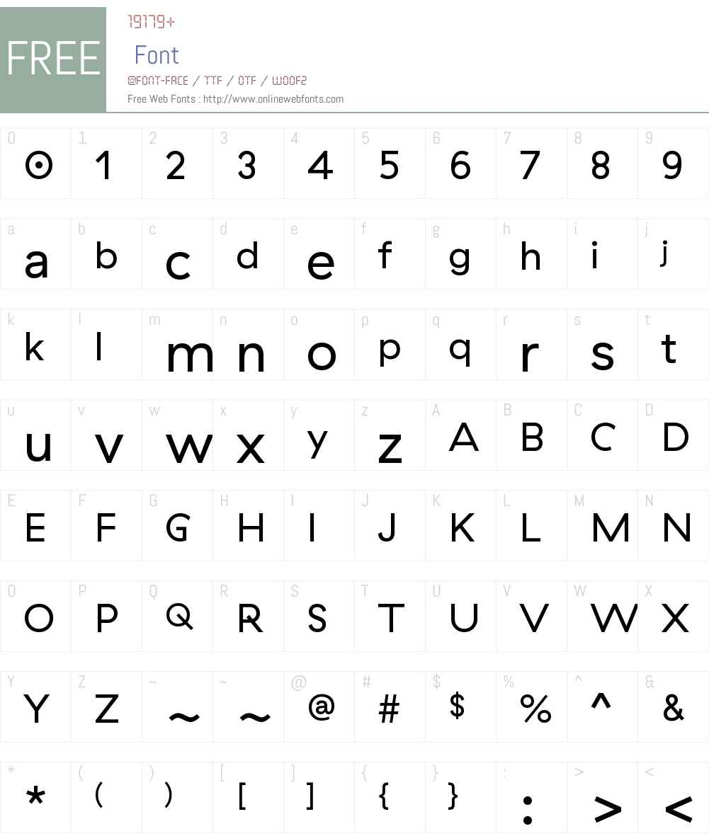 GT Haptik Font Screenshots