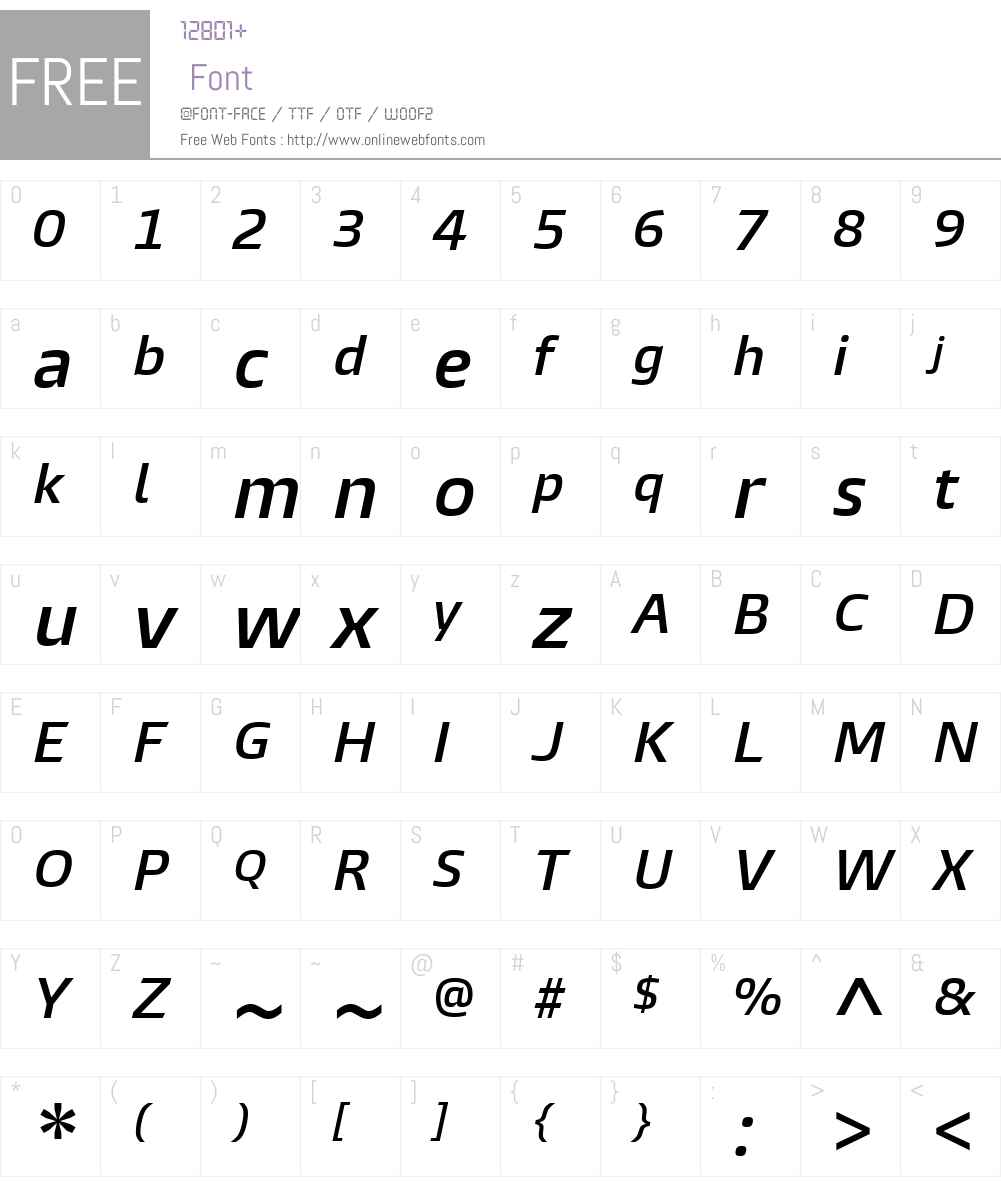 BurlingameW01-SemiBoldIt Font Screenshots
