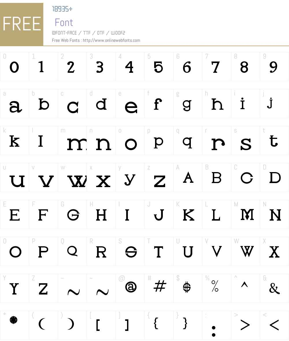 Oleo Font Screenshots
