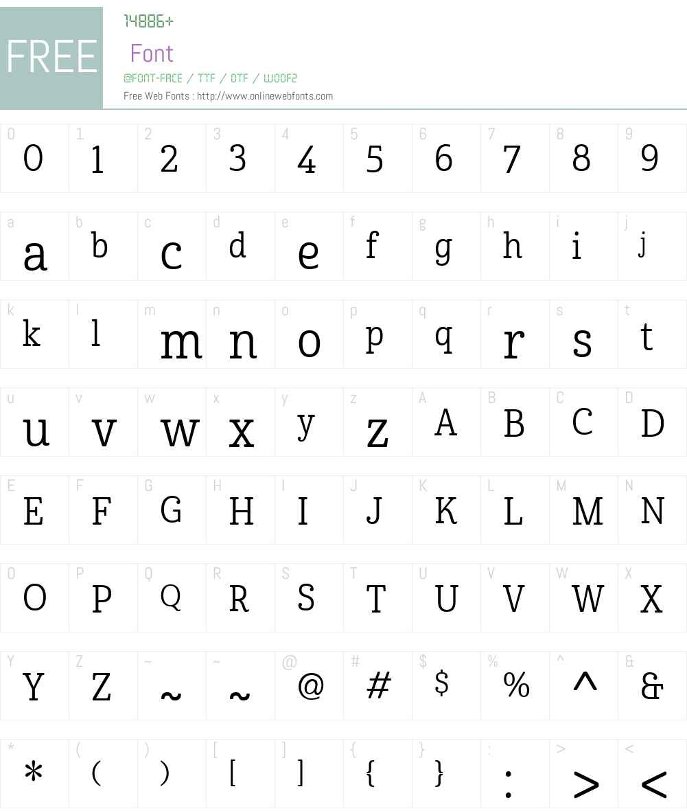 CabritoW01-CndRegular Font Screenshots