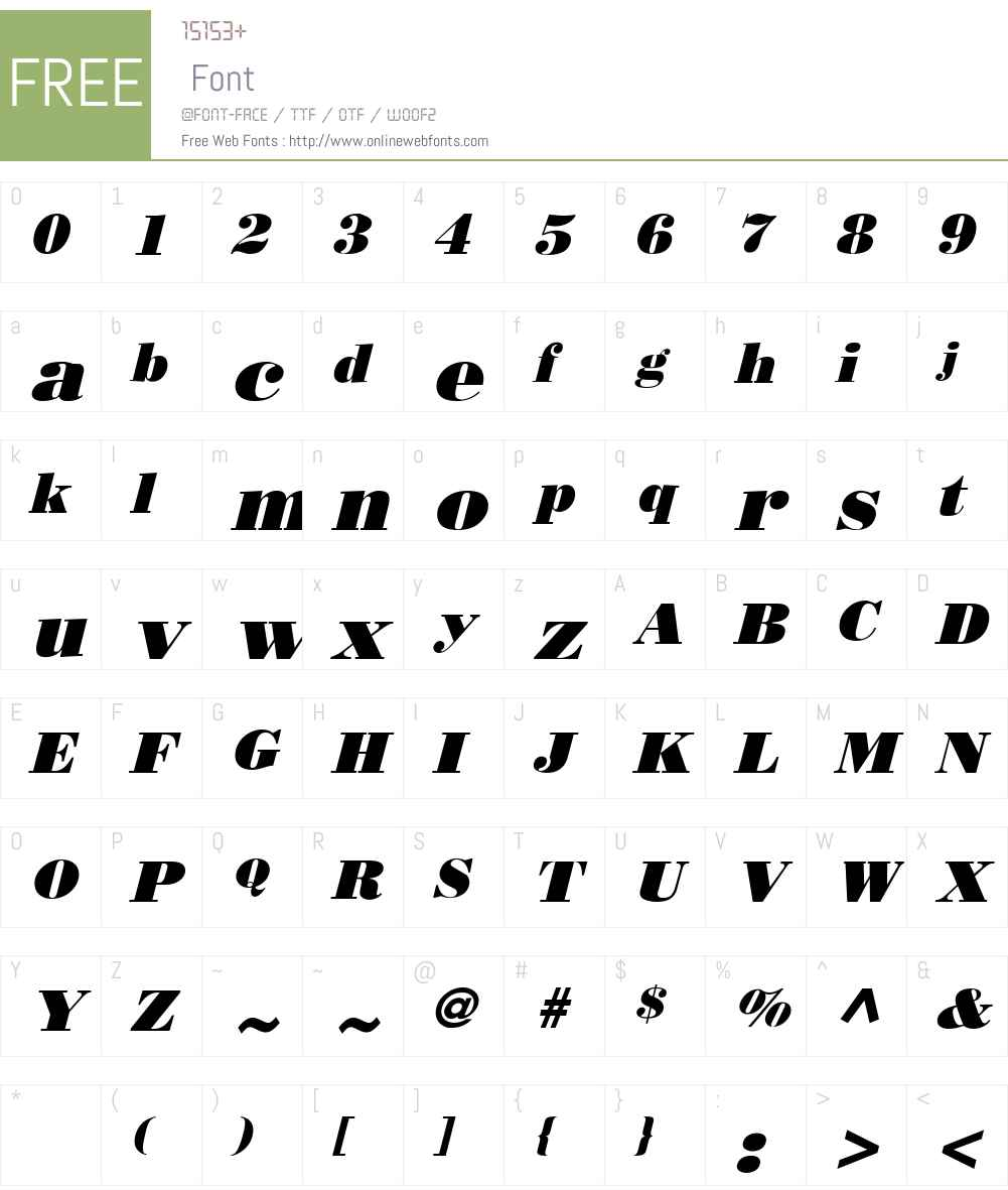 Boden Esperanto Font Screenshots