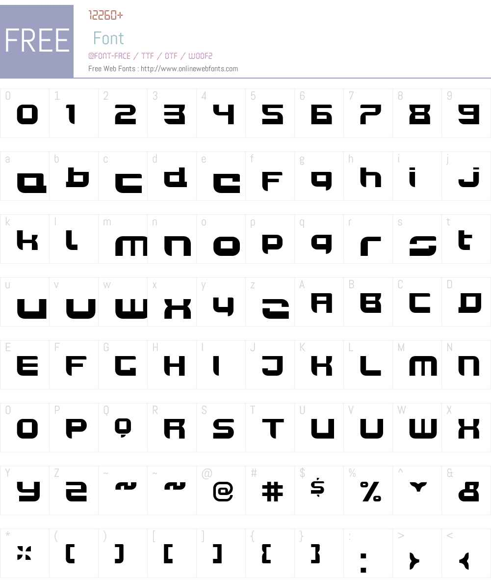JoyRiderBlackW00-Regular Font Screenshots