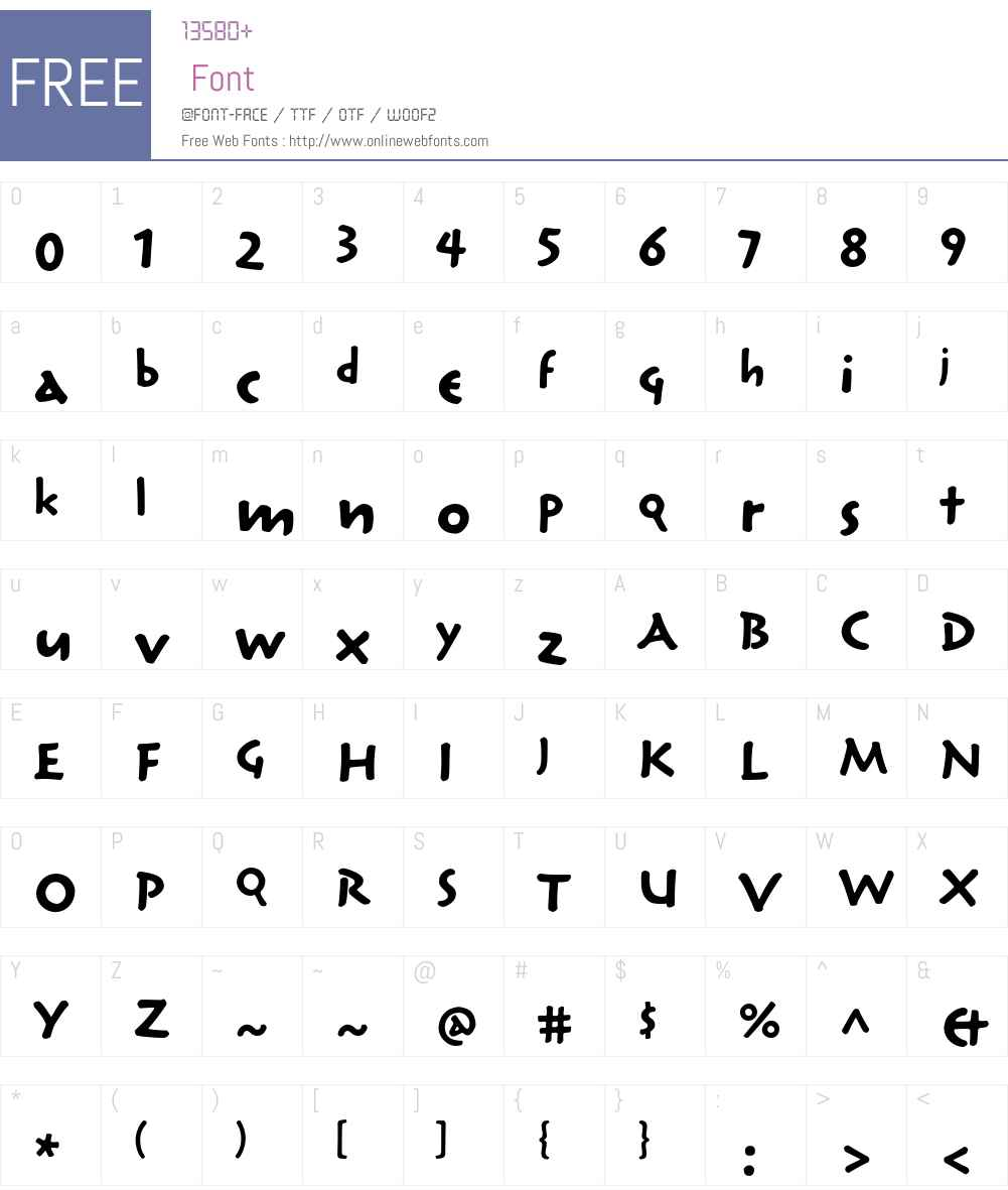 Reliq Std Font Screenshots