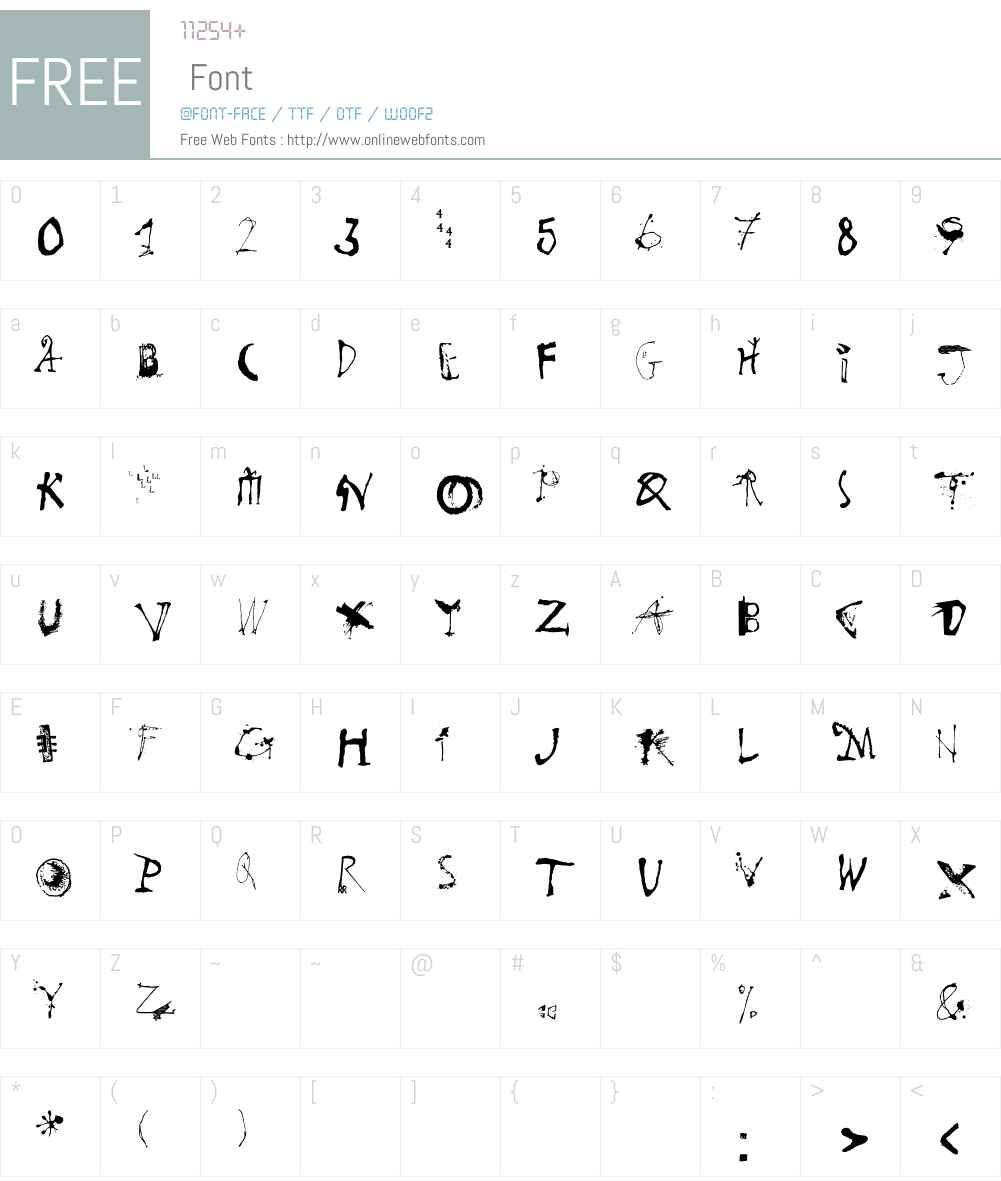 Goodies LT Std B Font Screenshots