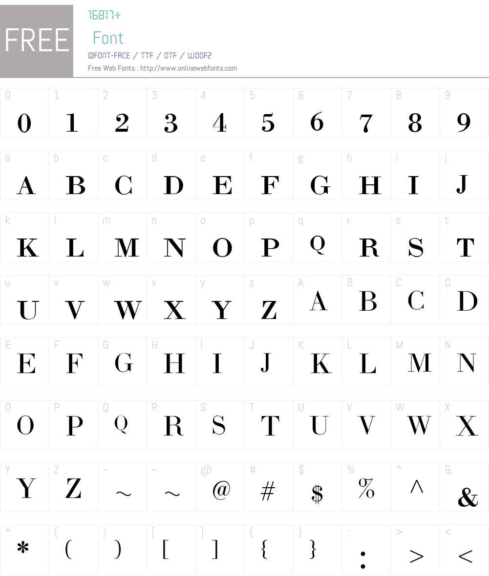 LTCBodoni175W01-SmallCaps Font Screenshots