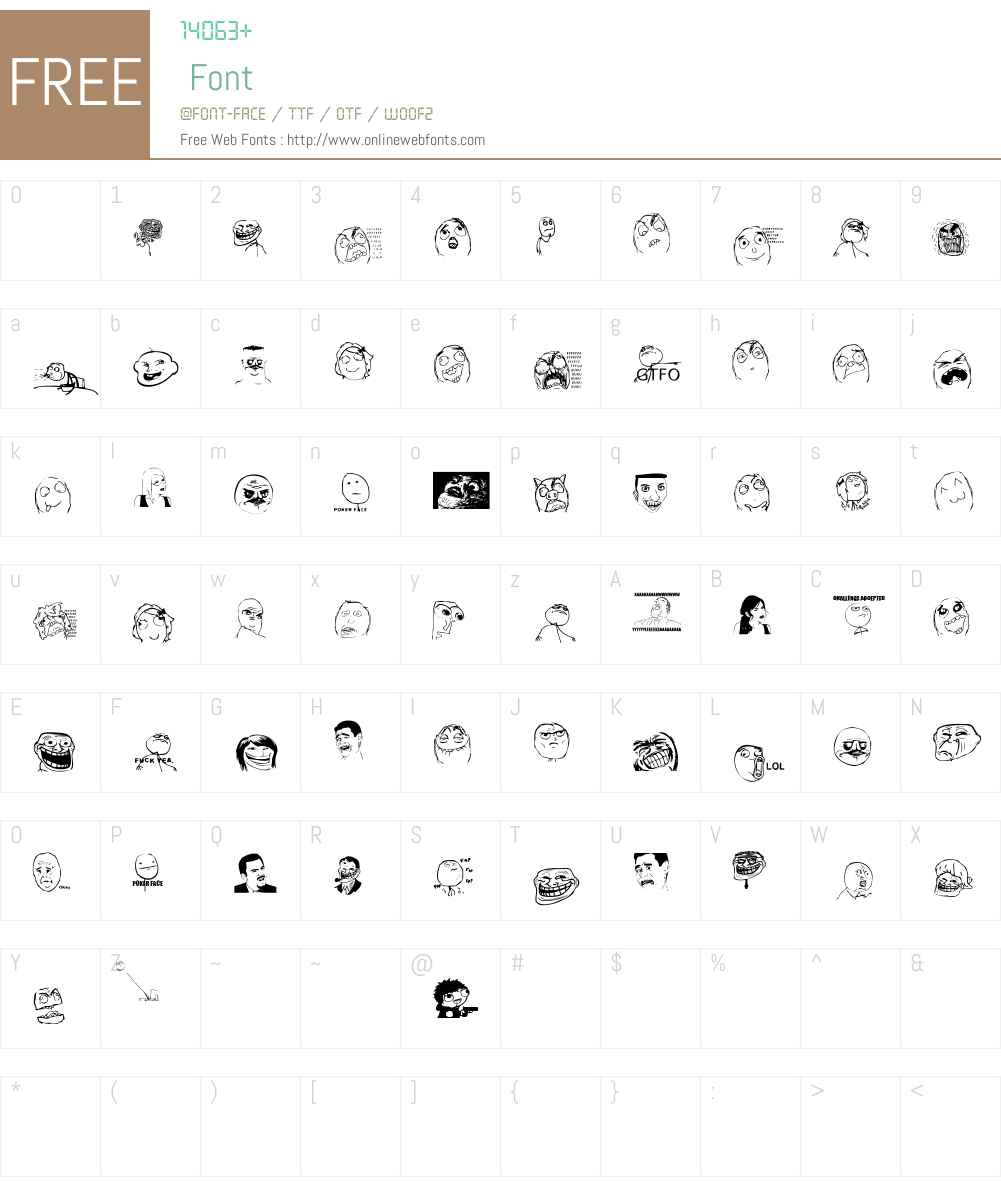 Memetica - Teste 1 Font Screenshots