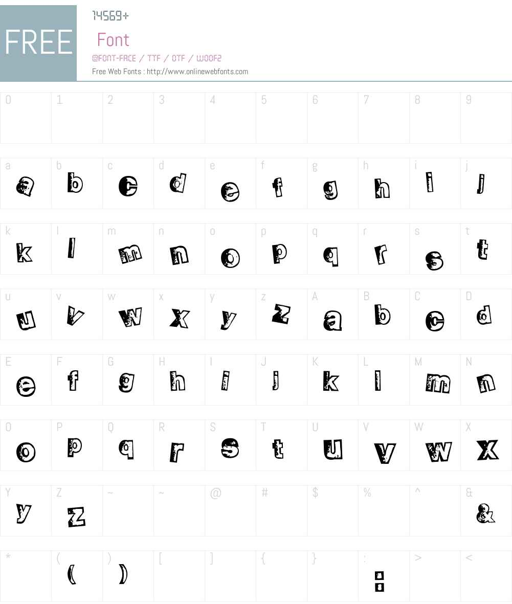 fz-wencang-080 Font Screenshots