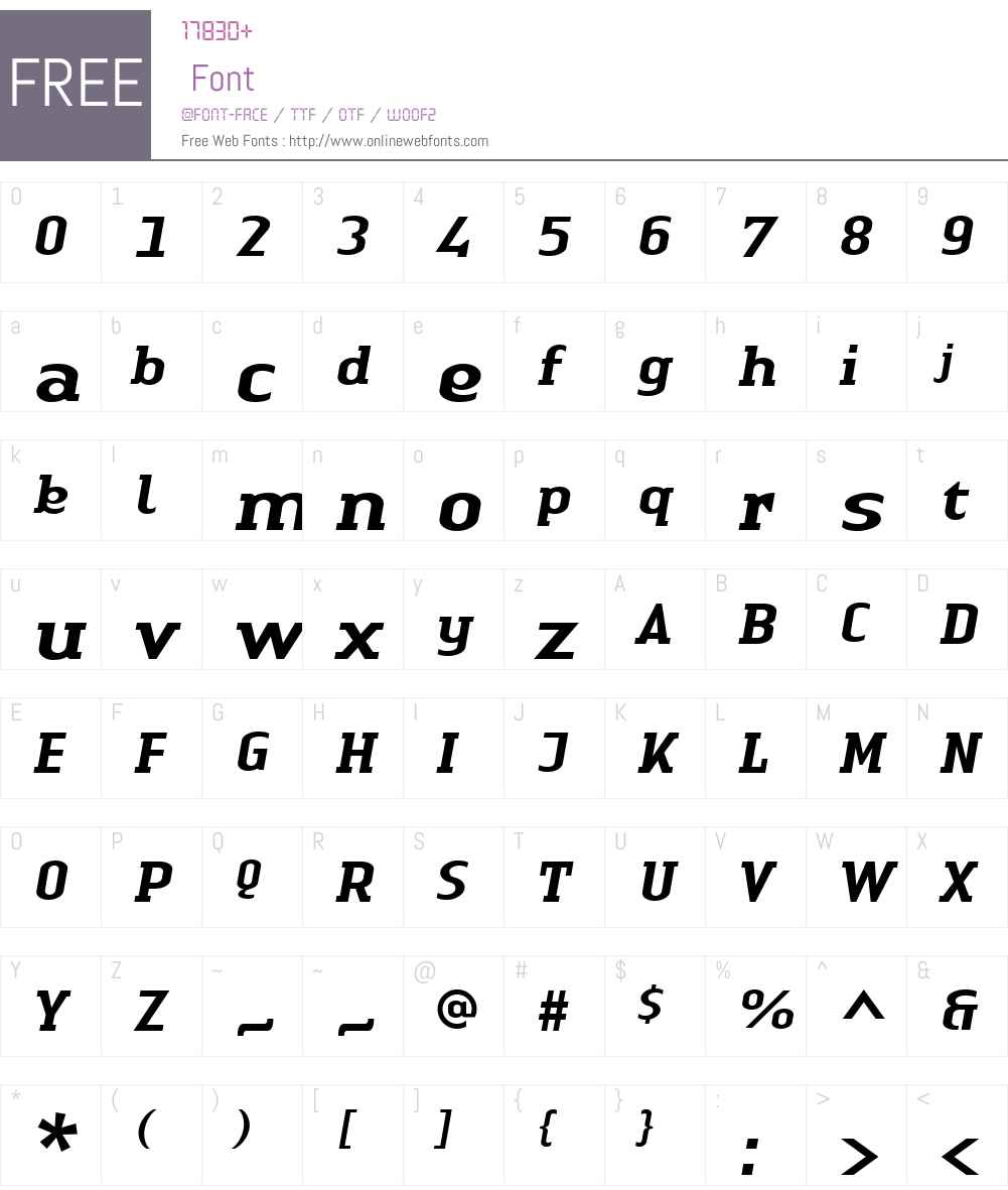 Linotype Authentic Serif Font Screenshots