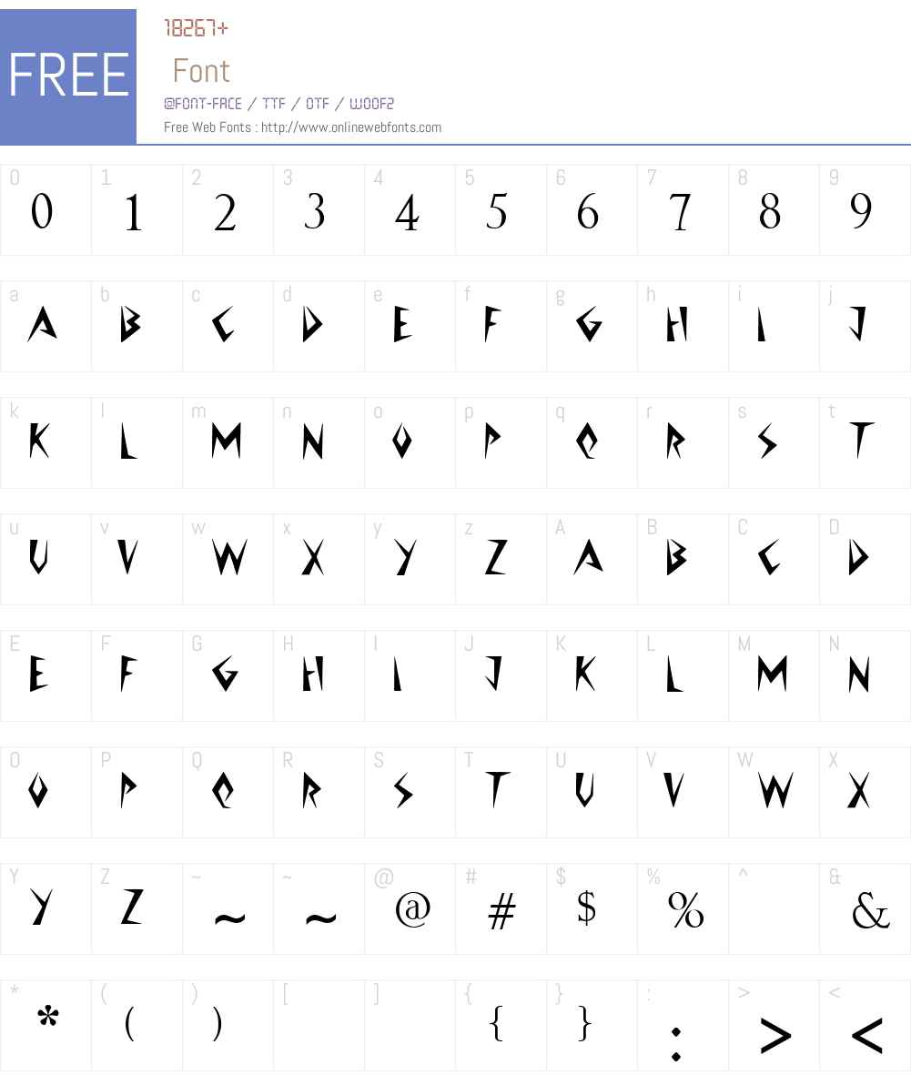 Jazzy Caveman Font Screenshots