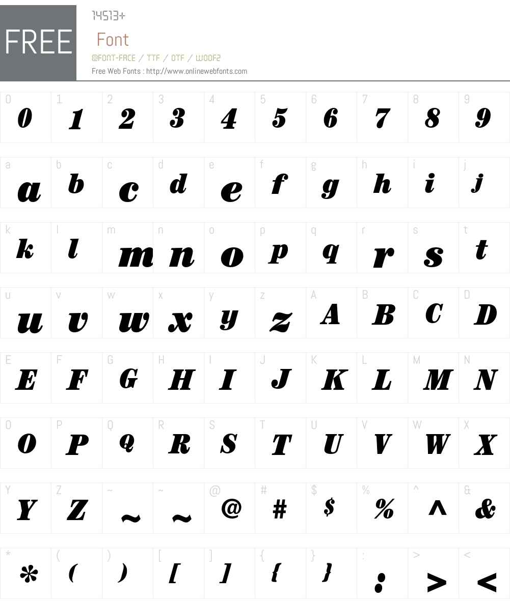 ITC Century Font Screenshots