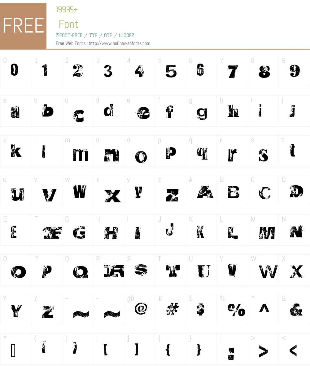 Saltpeter N Fungus Font Screenshots