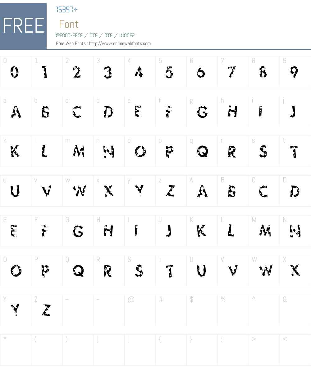sickfuture Font Screenshots