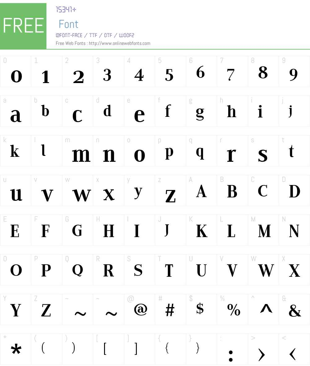 EditoW01-FRegular Font Screenshots