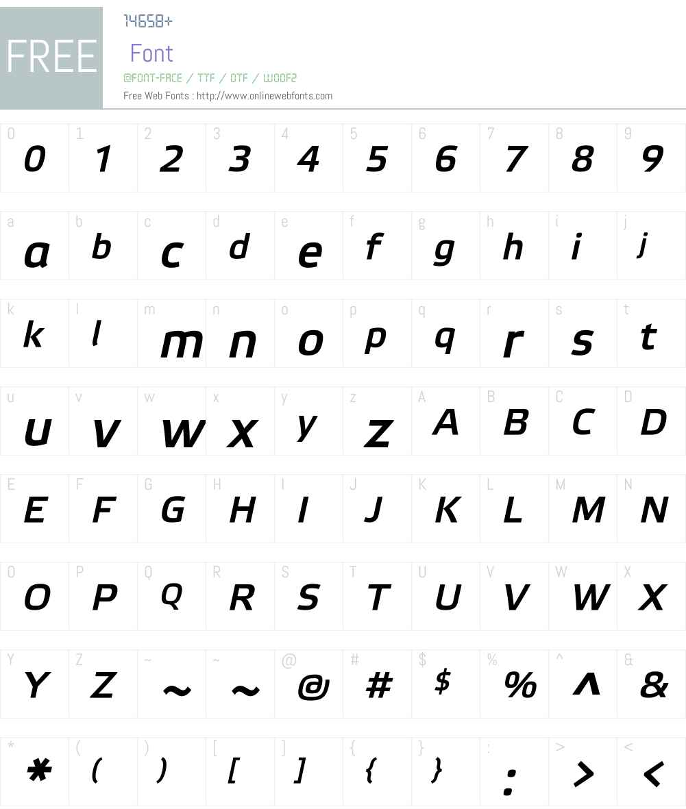 Elektra Medium Pro Font Screenshots