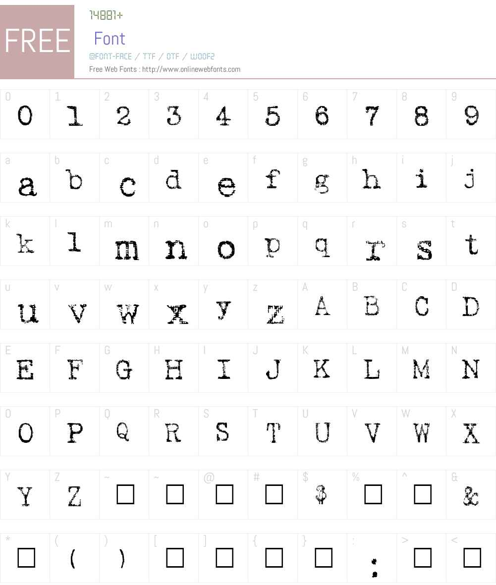 Batik Regular Font Screenshots