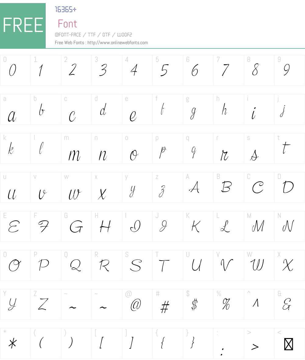 Snackbar-SkinnyLightItalic Font Screenshots