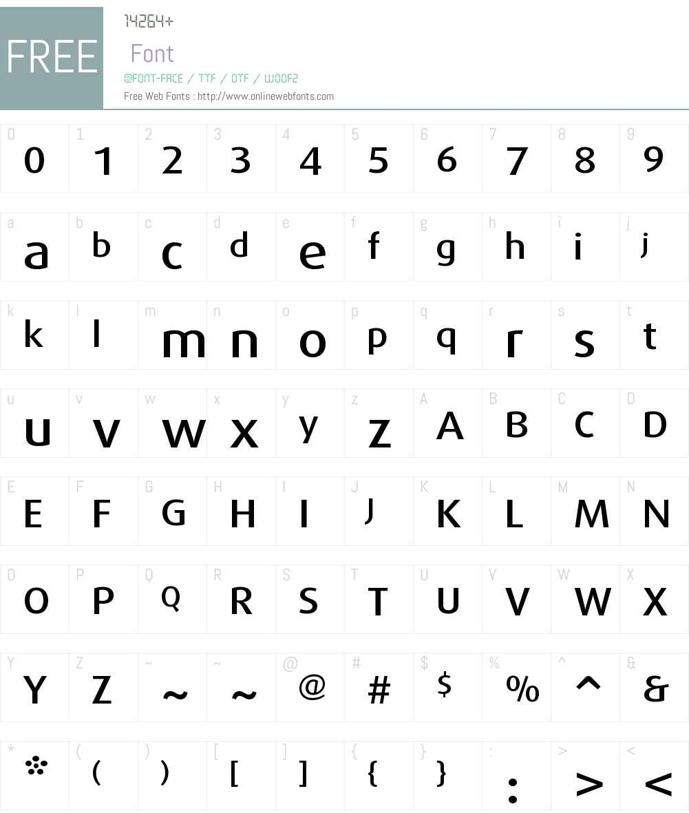 Dax Pro Font Screenshots