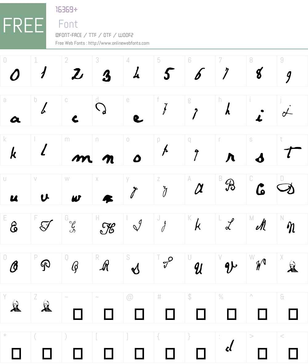 Papineau Font Screenshots