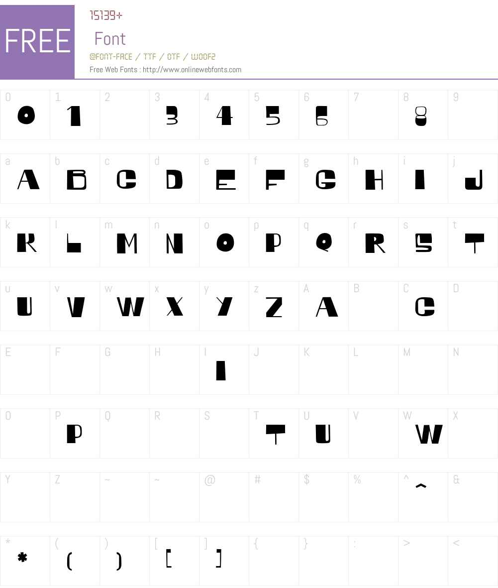 Regato-regular Font Screenshots