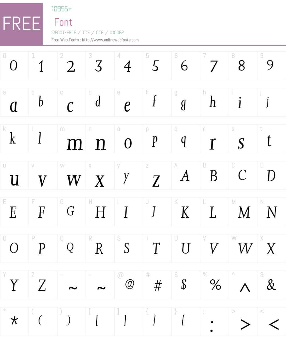 Ijessica Font Screenshots