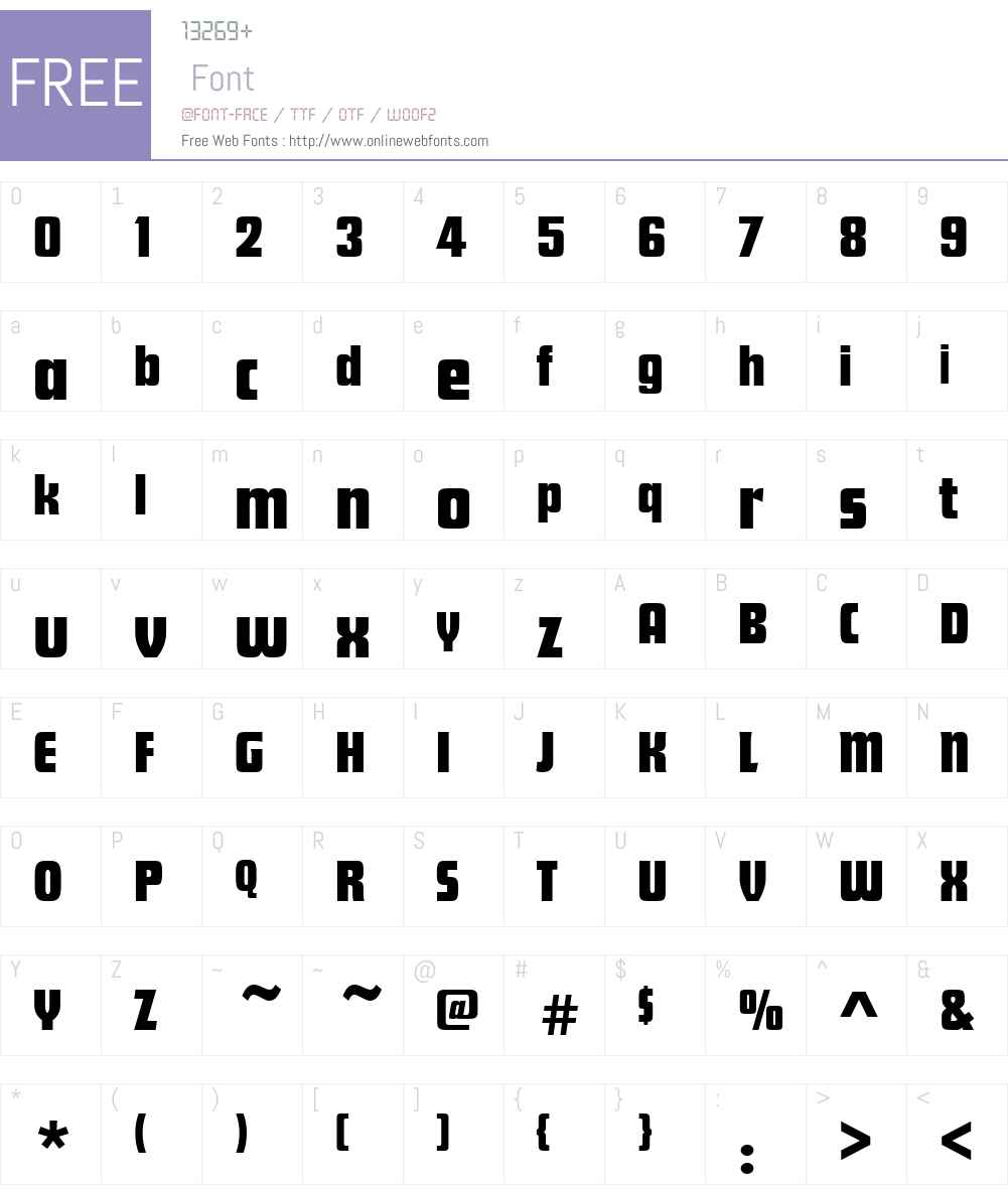 FuturaDW01-Display Font Screenshots