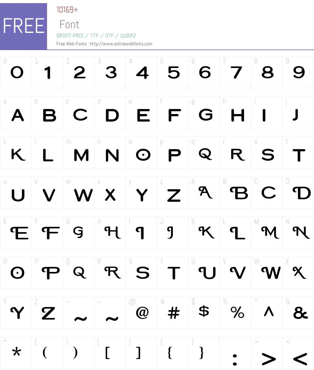 CopperplateClassW01-RndSw Font Screenshots