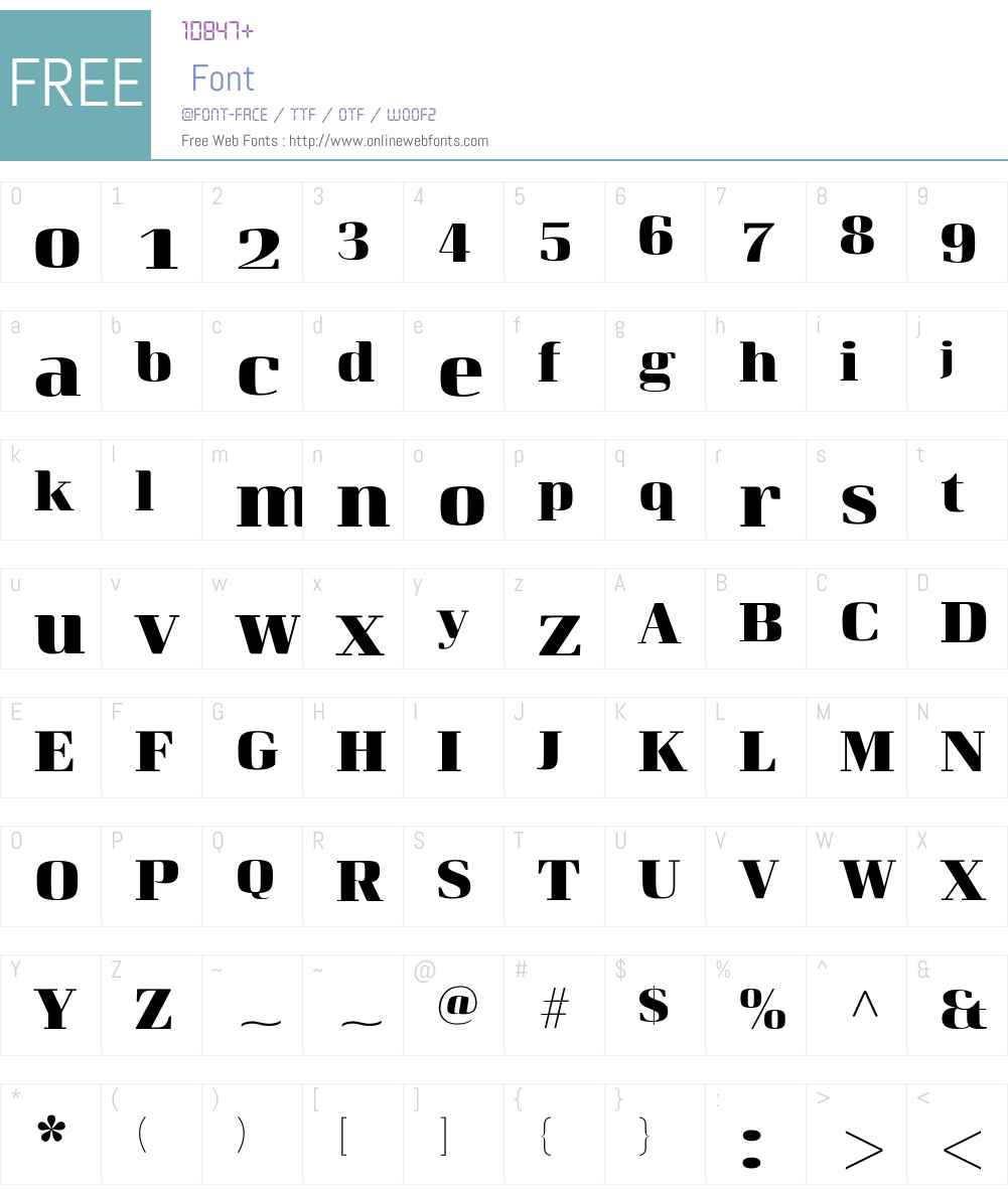 CurveW02-ExtraBold Font Screenshots