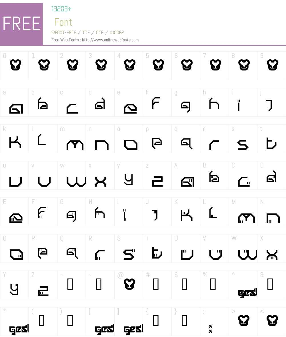 Submit Font Screenshots