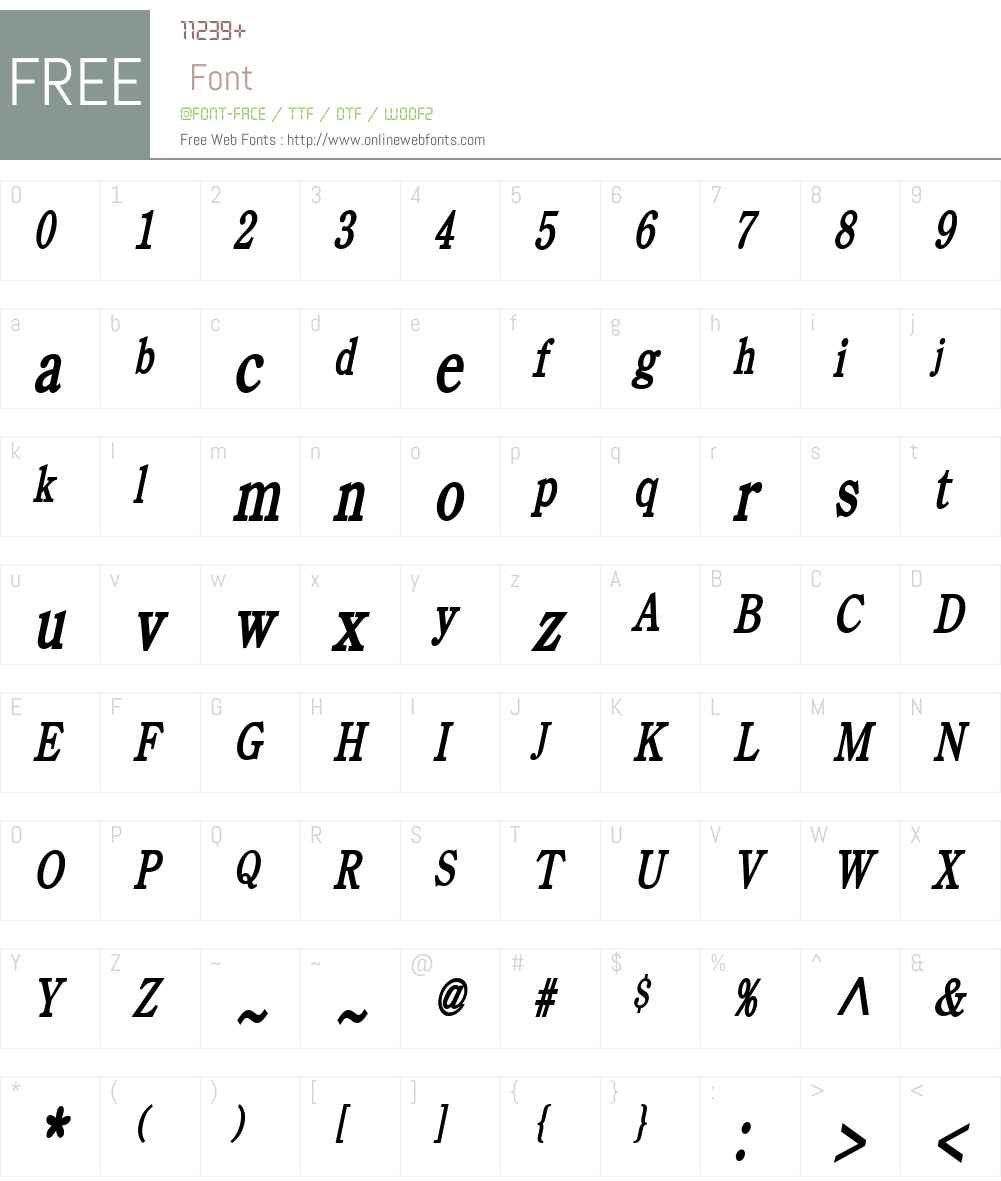 Cento Thin Font Screenshots