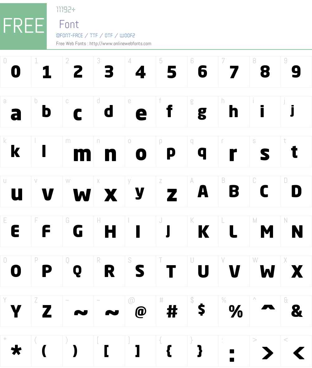 Neo Sans Std Black Font Screenshots