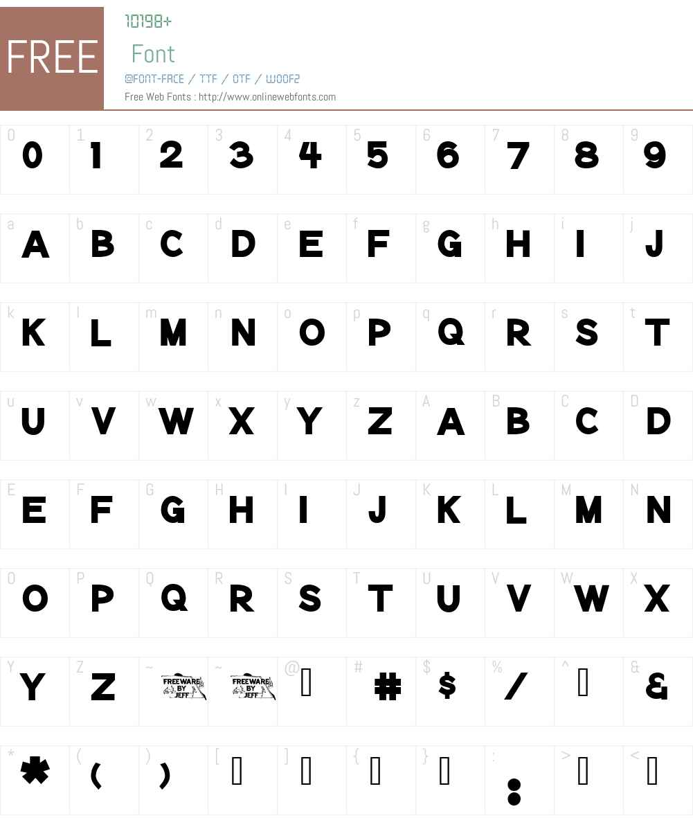 Notation Heavy JL Font Screenshots
