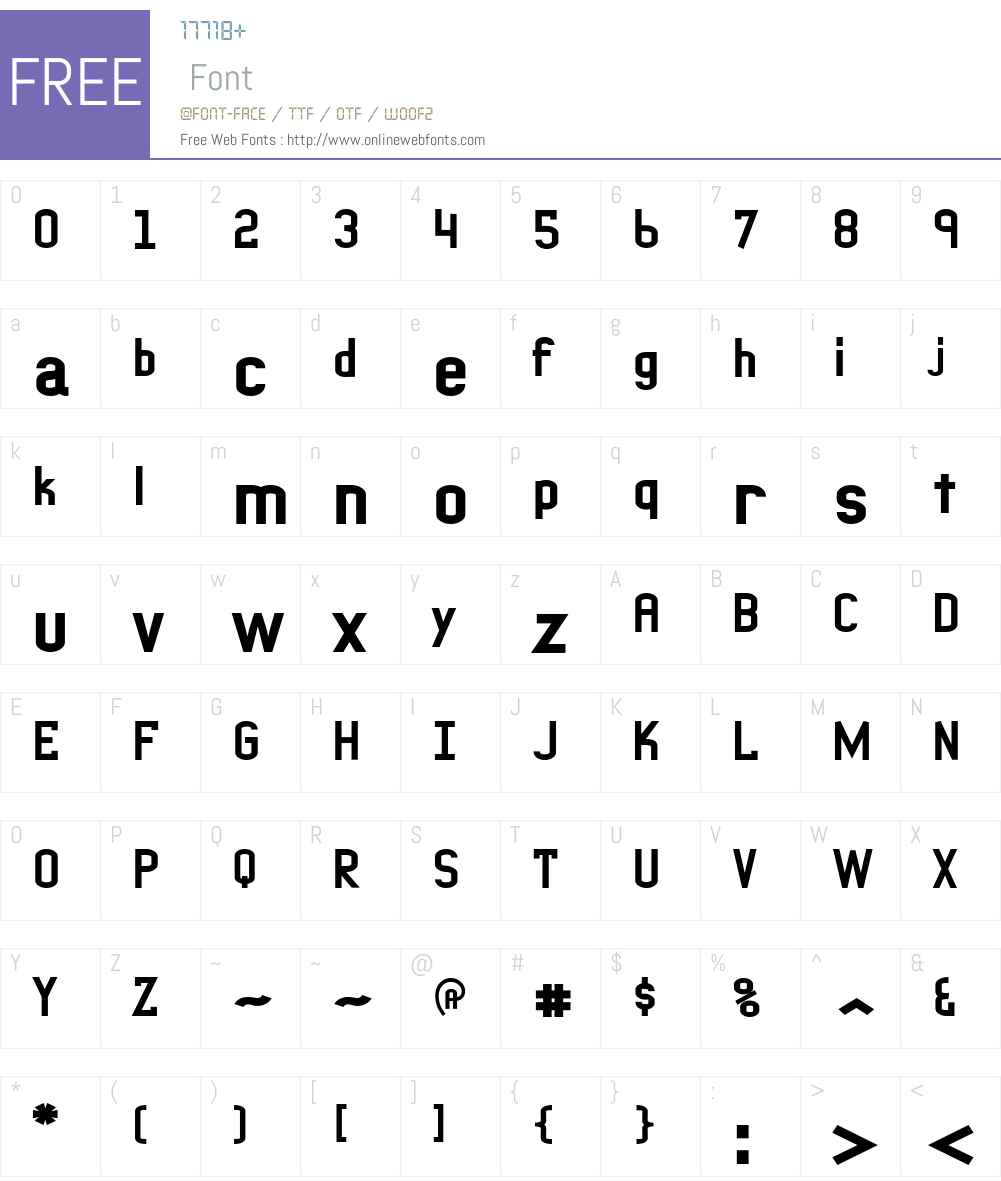 PeterPierreXBold Font Screenshots