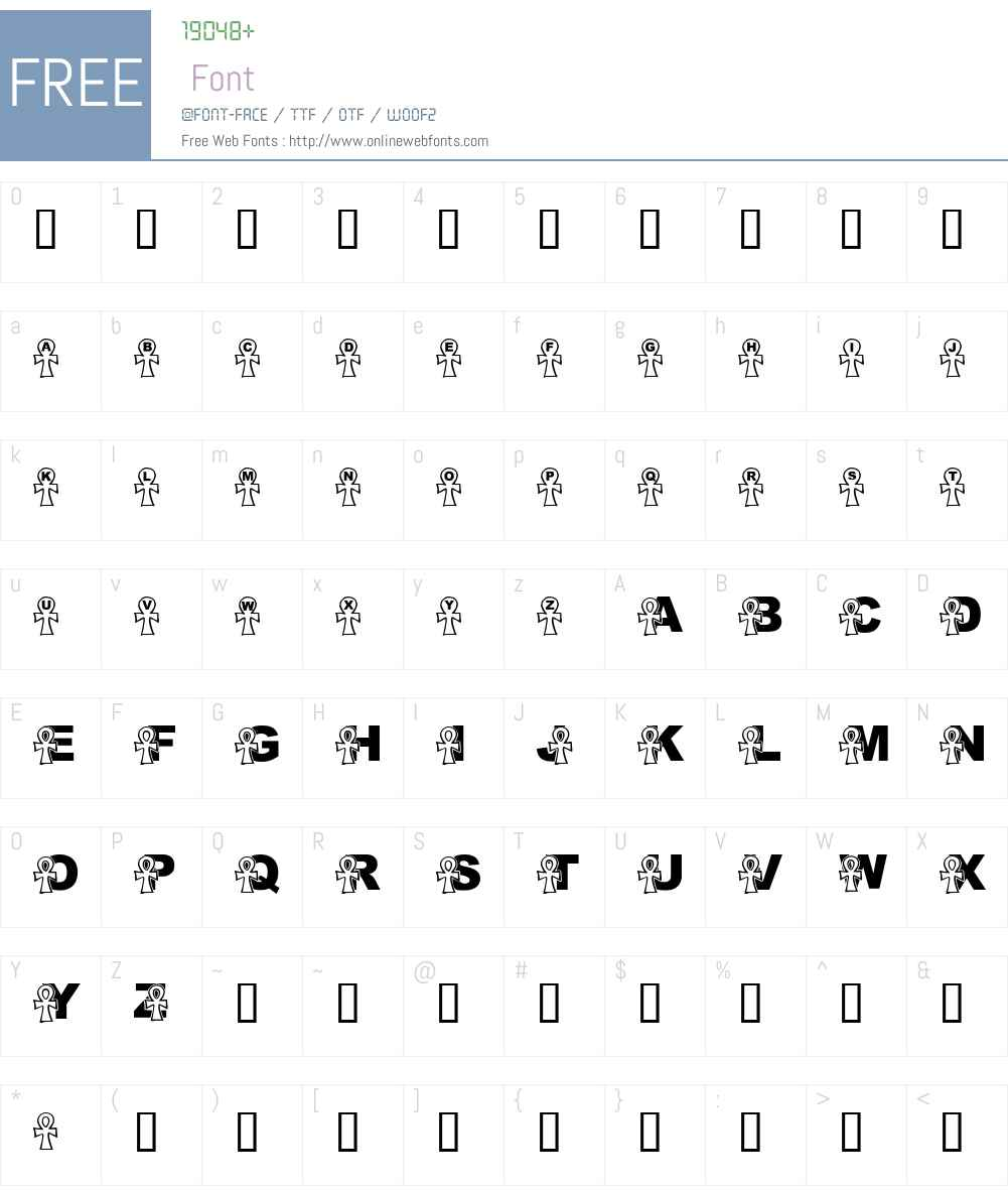 LMS Everlasting Font Screenshots