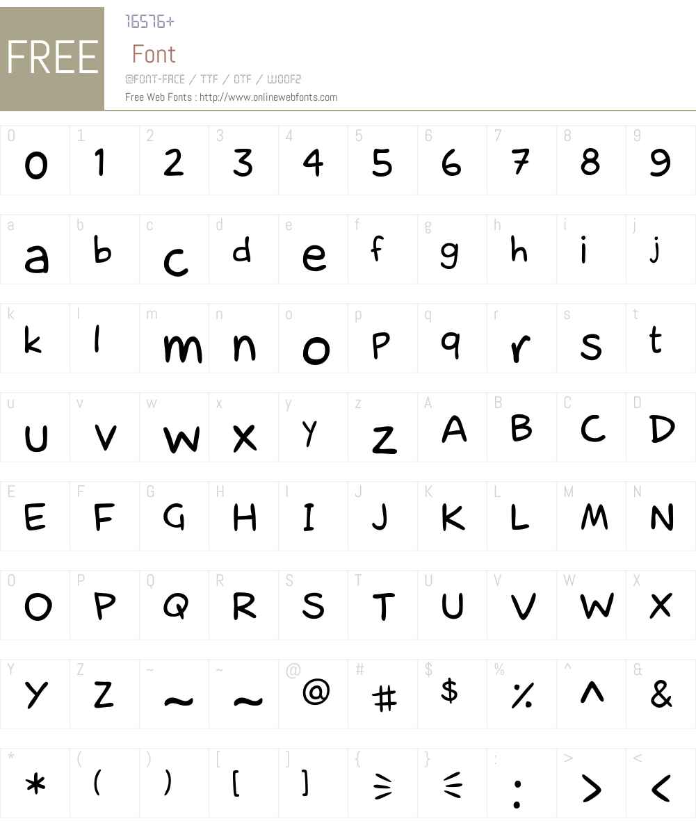 laCartoonerie Font Screenshots