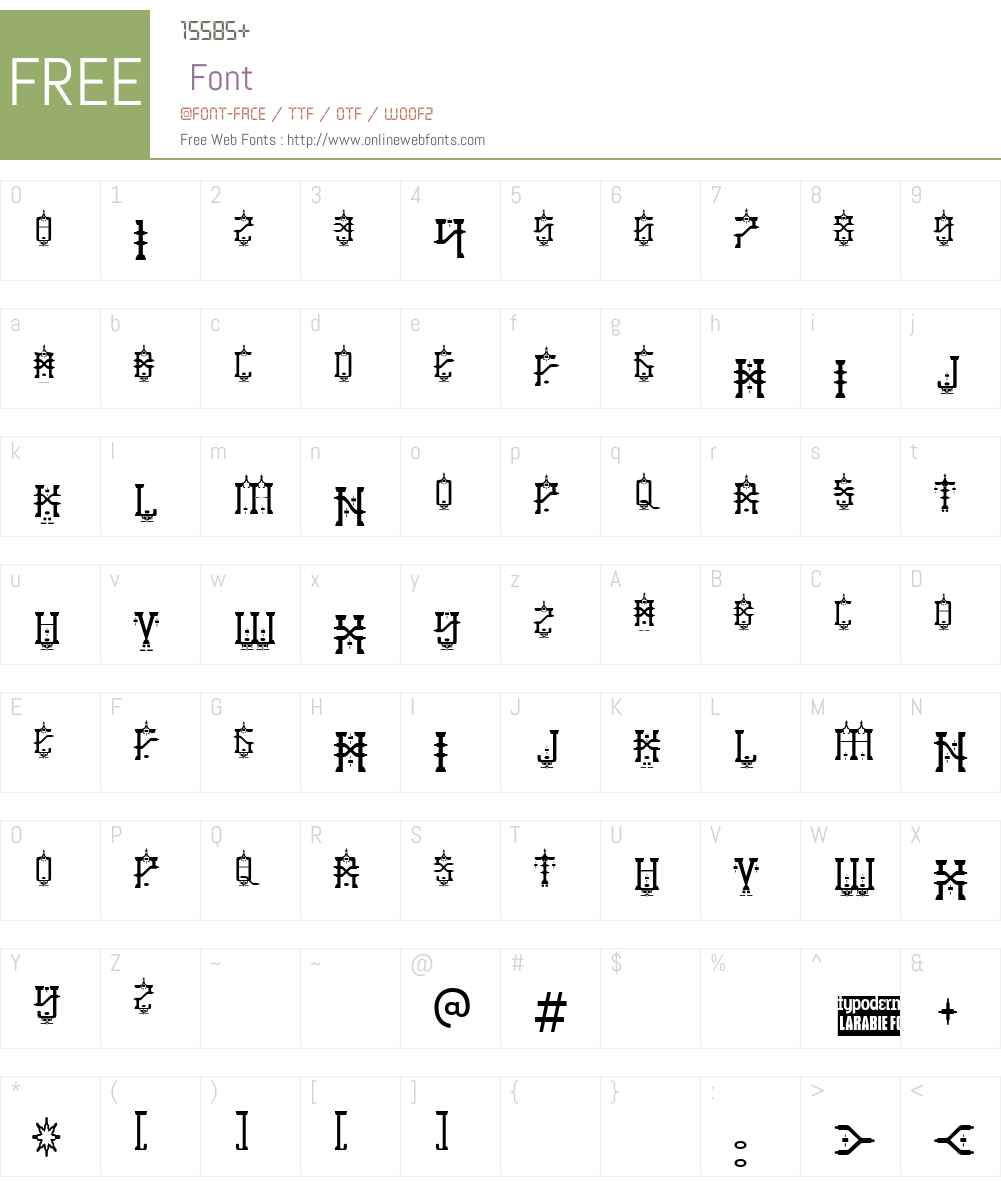 Baby Jeepers Font Screenshots