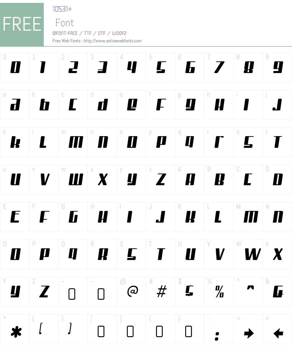 Mister Firley Font Screenshots