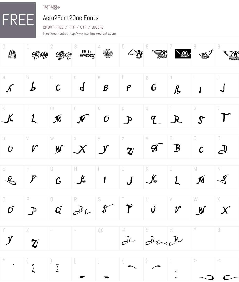 Aero?Font?One Font Screenshots