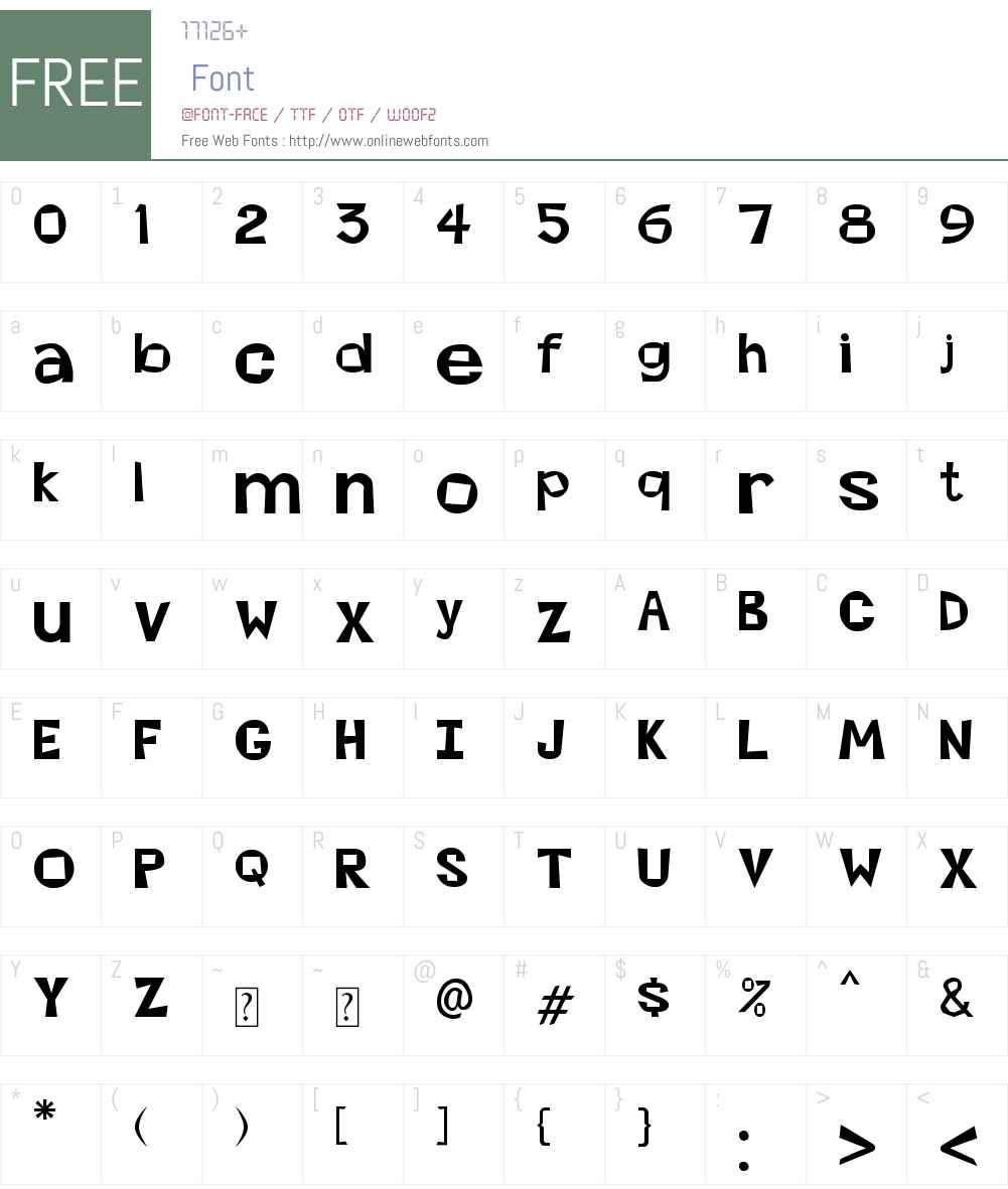 Abierta Font Screenshots