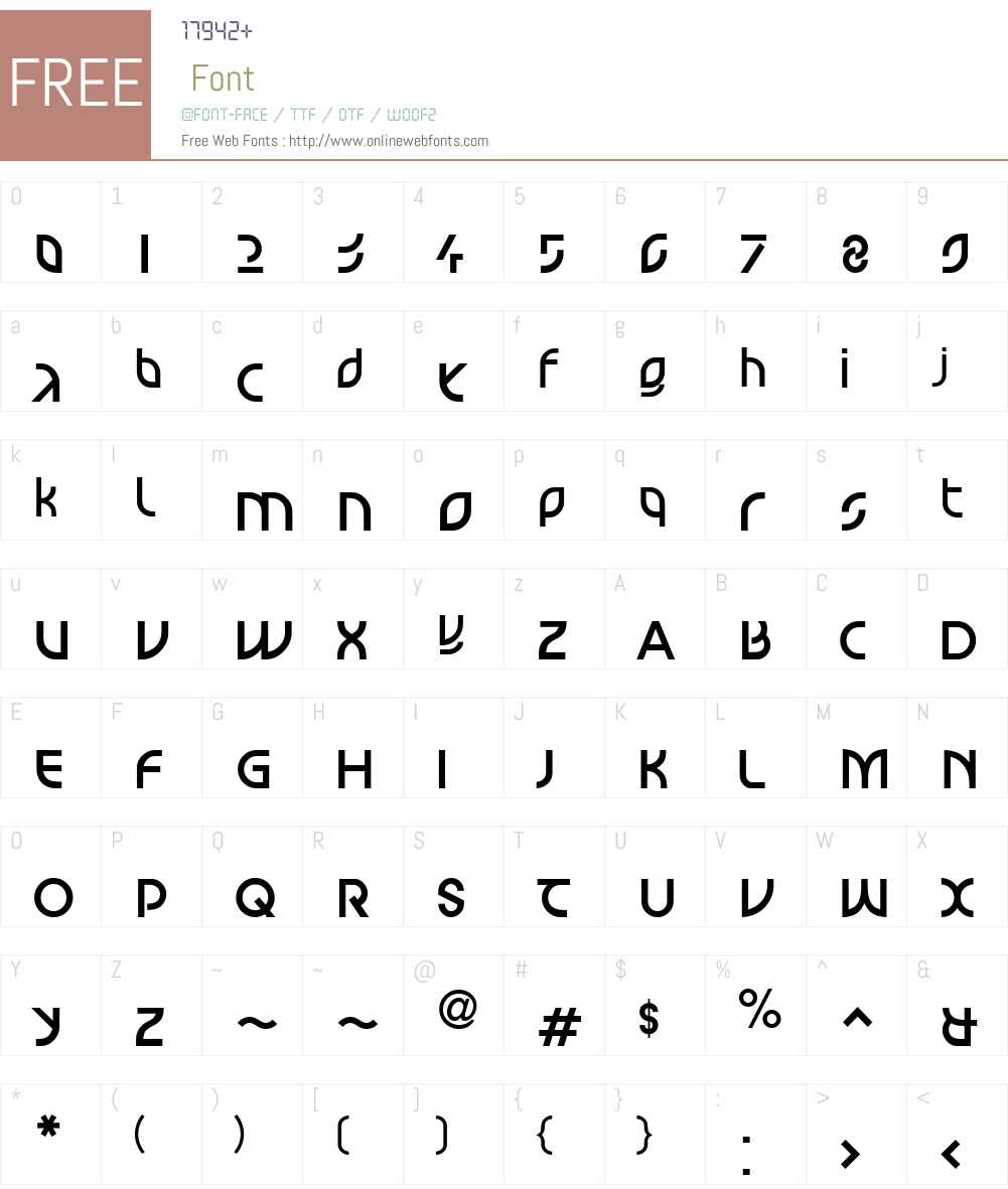LTScott Mars Font Screenshots