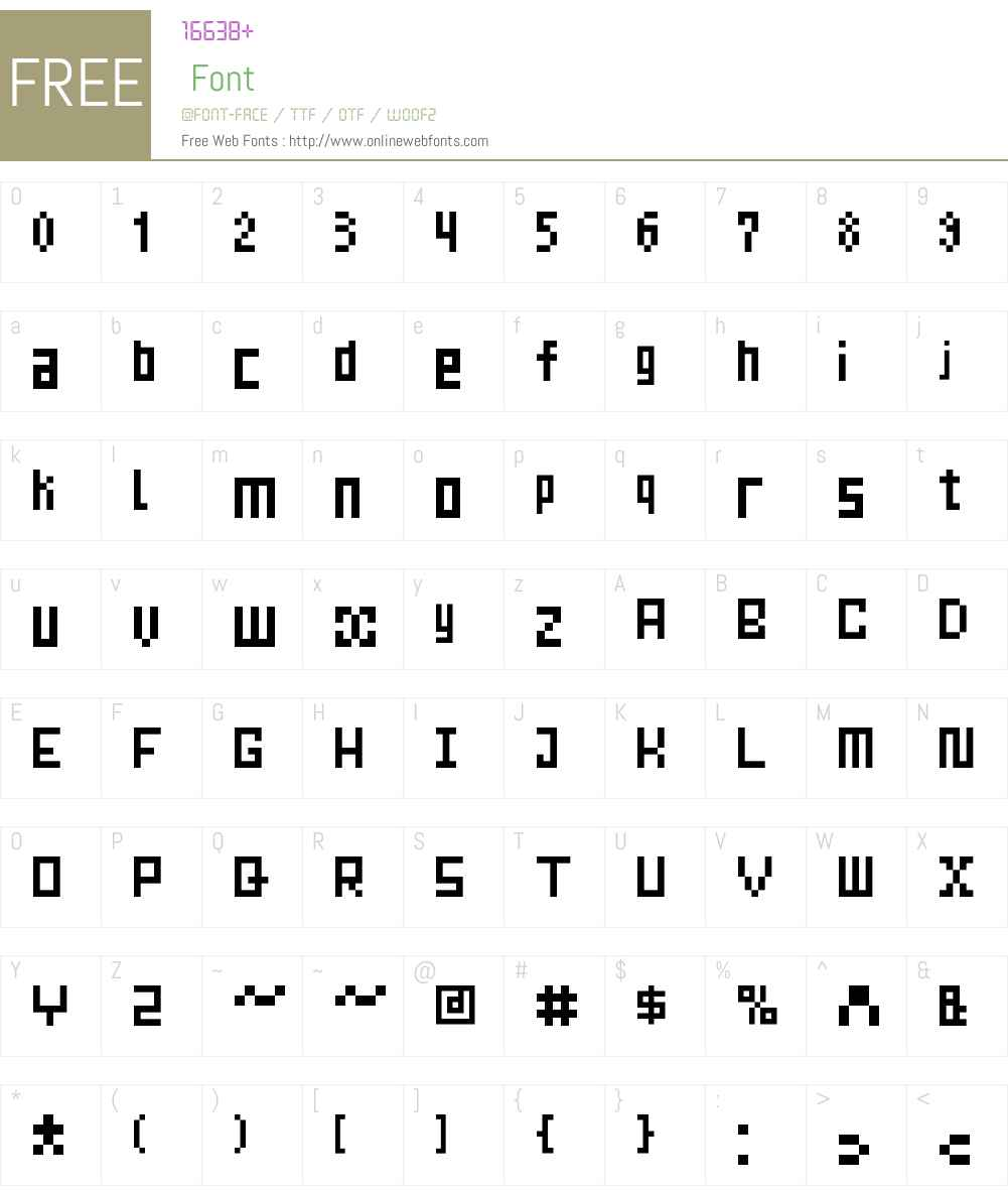 Mrs Kichinto Font Screenshots