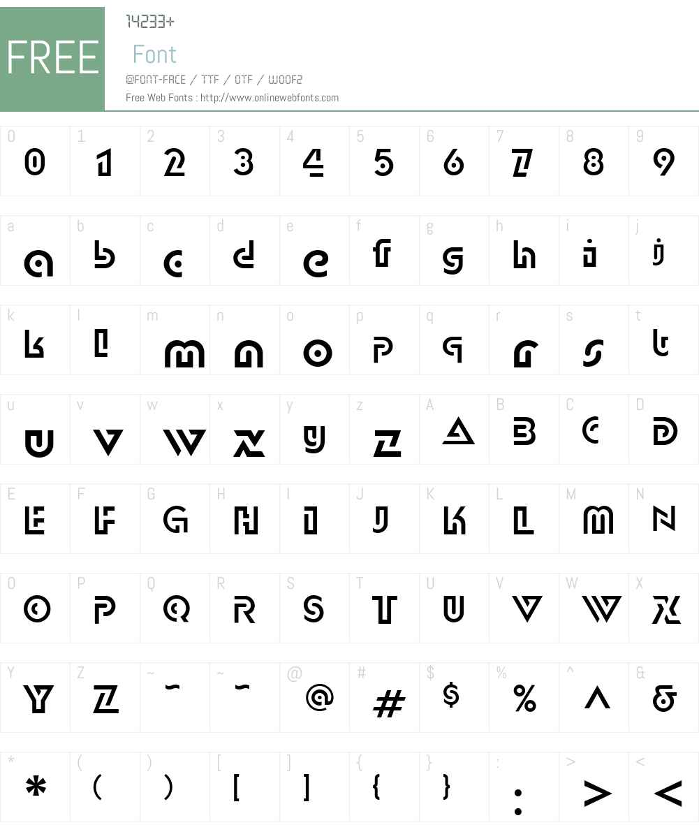 DublonC Font Screenshots