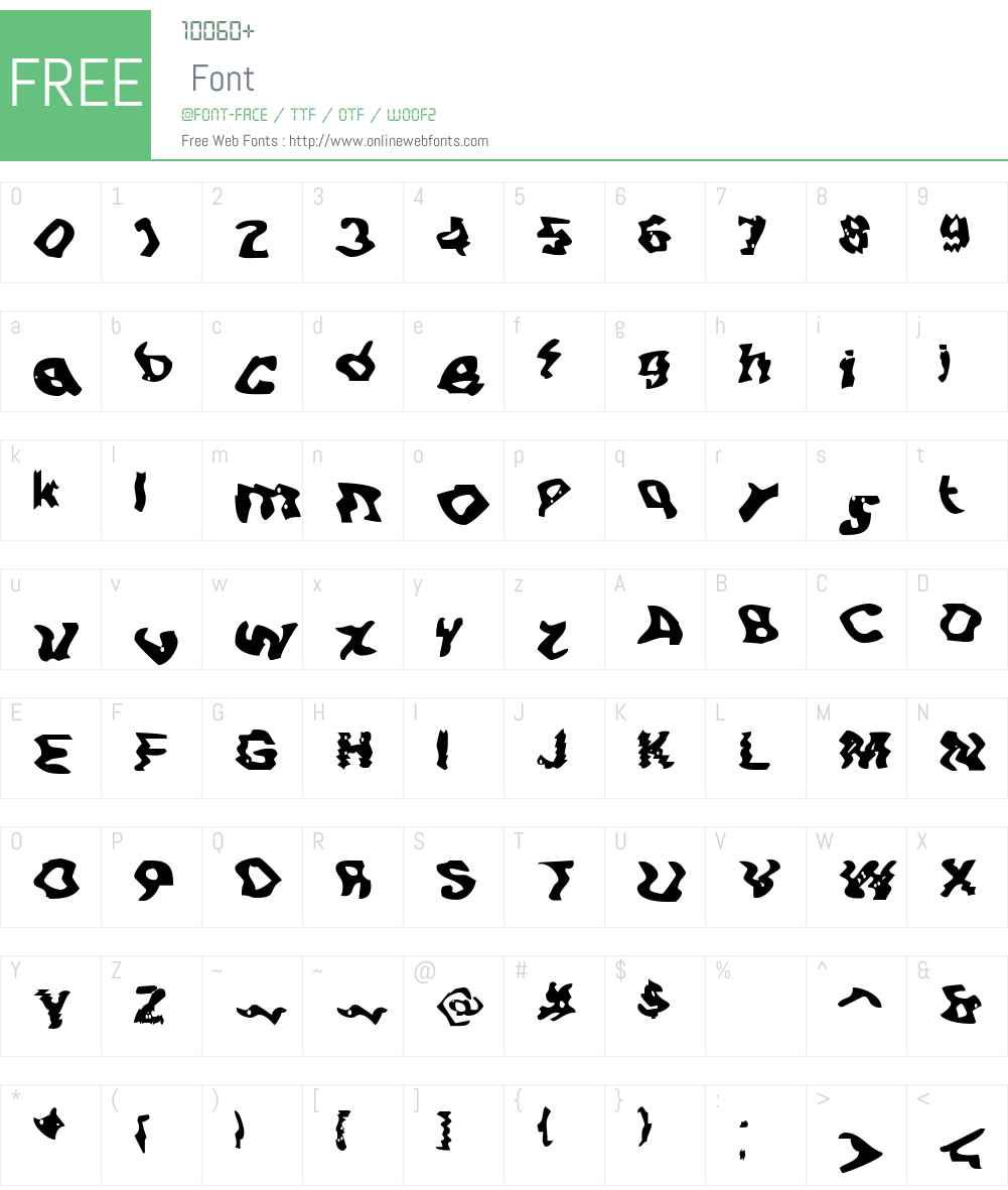 BN-Buzz! Font Screenshots